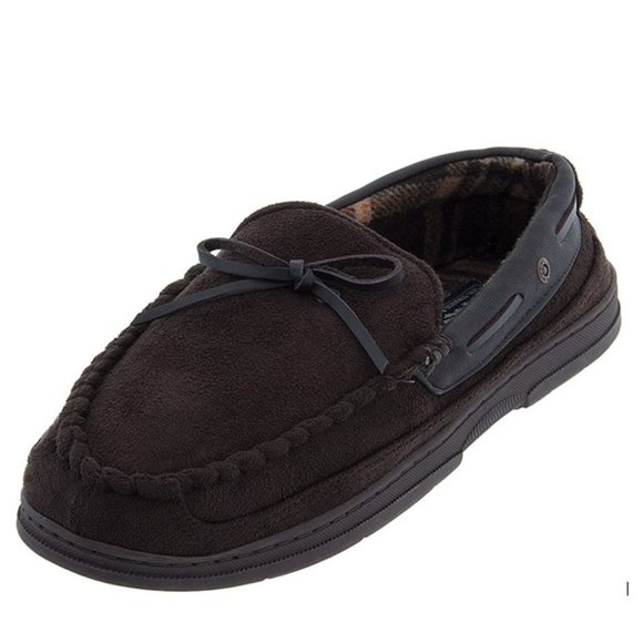 Levi Strauss Men's Chocolate Moccasin Slippers